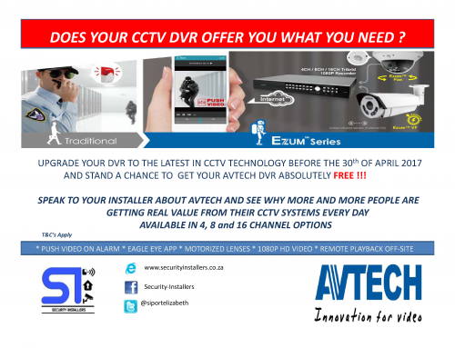 Security Installers Network go with AVTECH for April